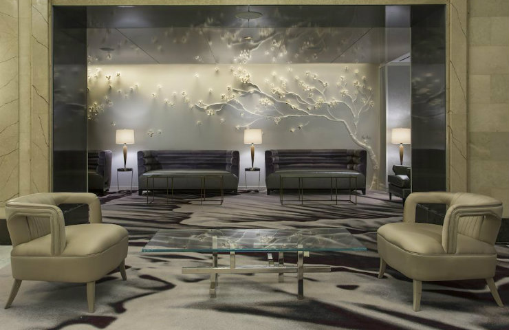 New York Luxury Hotel -Loews Regency Hotel by Rottet Studio