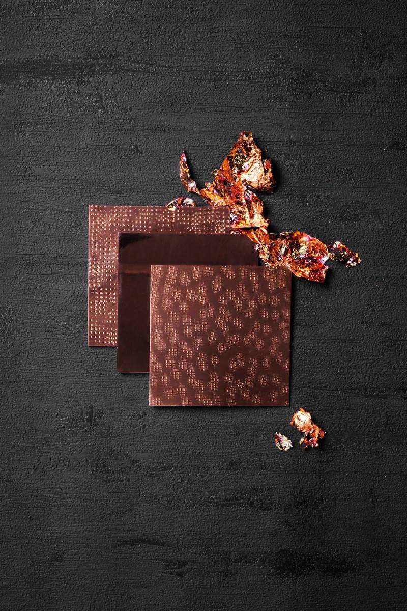 Copper leaf samples - Handmade design furniture hotel interior inspirations Discover new hotel interior inspirations with Luxury Design Summit 2018 Boca do Lobo inspiration