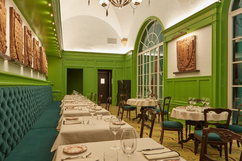 Garden dressing with style: Gucci Restaurant in Florence is a Must new Gucci restaurant Garden dressing with style: New Gucci Restaurant in Florence is a Must Garden dressing with style New Gucci Restaurant in Florence is a Must 6