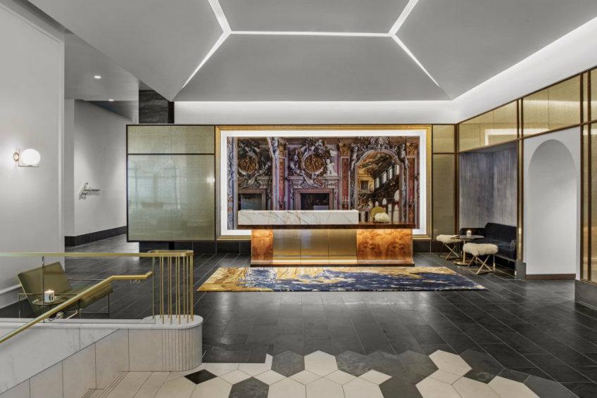 Hotel Alessandra lobby entrance by Rottet Studio international design awards 2018 International design awards 2018 - Hotel Alessandra by Rottet Studio International design awards 2018 Hotel Alessandra by Rottet Studio 5