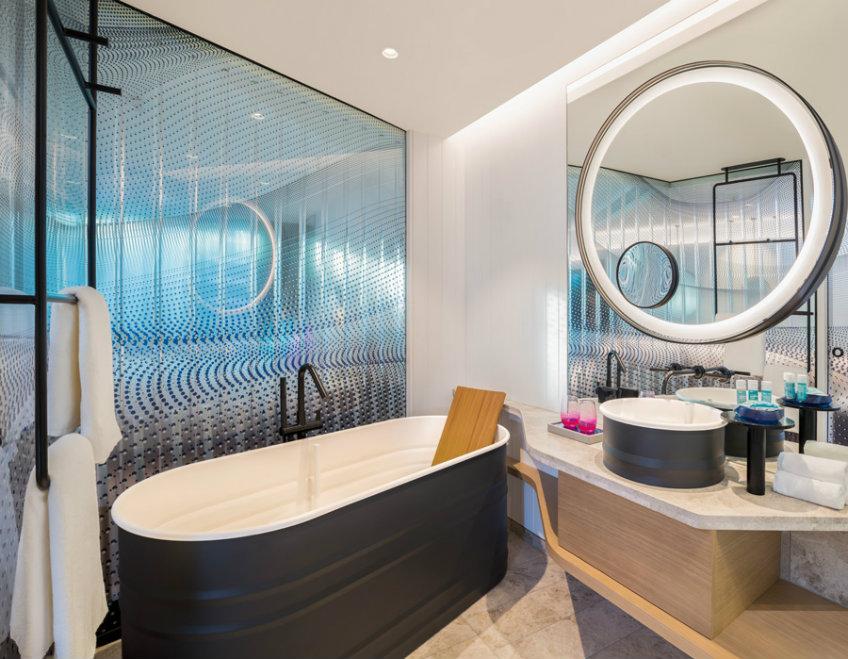 Luxury hotels of the world W hotel Brisbane - Bathroom design Luxury hotels of the world Luxury hotels of the world - NY's most loved hotel arrived to Brisbane Luxury hotels of the world W hotel Brisbane Bathroom design