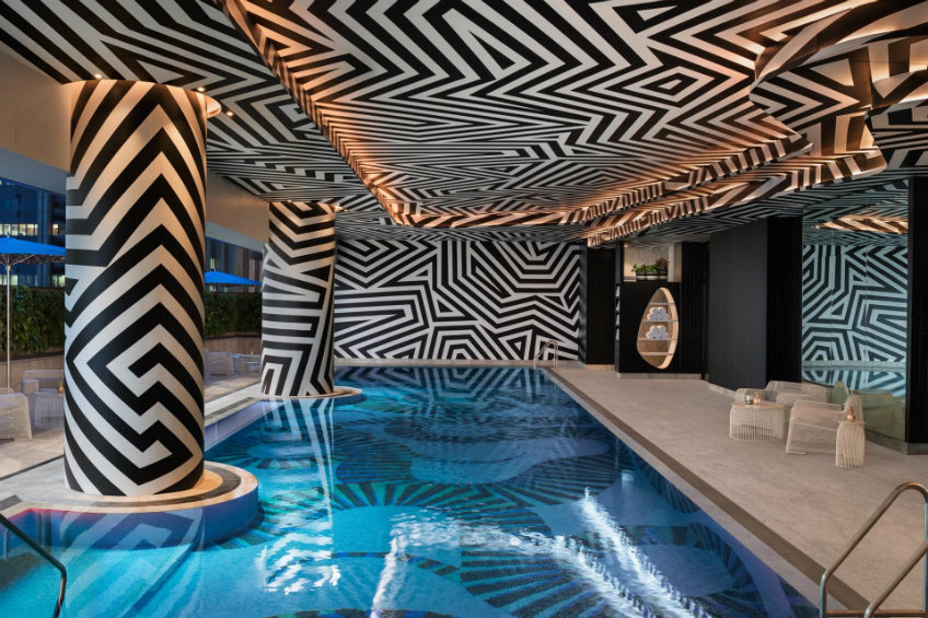 Luxury hotels of the world W hotel Brisbane - Swimming pool Luxury hotels of the world Luxury hotels of the world - NY's most loved hotel arrived to Brisbane Luxury hotels of the world W hotel Brisbane Swimming pool