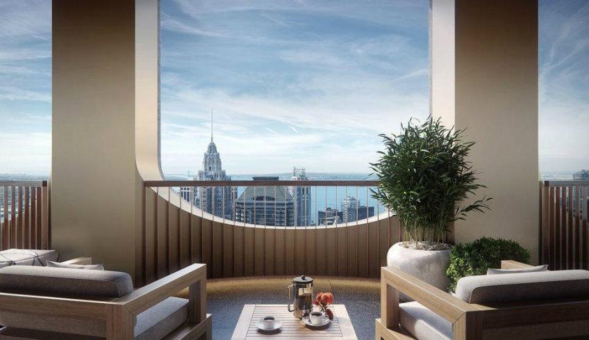 Luxury hotel room designed by David Adjaye new york skyscraper Sneak peek into David Adjaye's first New York skyscraper Sneak peek into David Adjayes first New York skyscraper 11