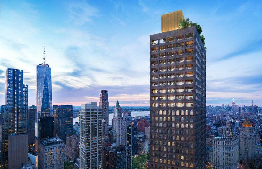 Hospitality design news - New York Skyscraper by David Adjaye new york skyscraper Sneak peek into David Adjaye's first New York skyscraper Sneak peek into David Adjayes first New York skyscraper 13