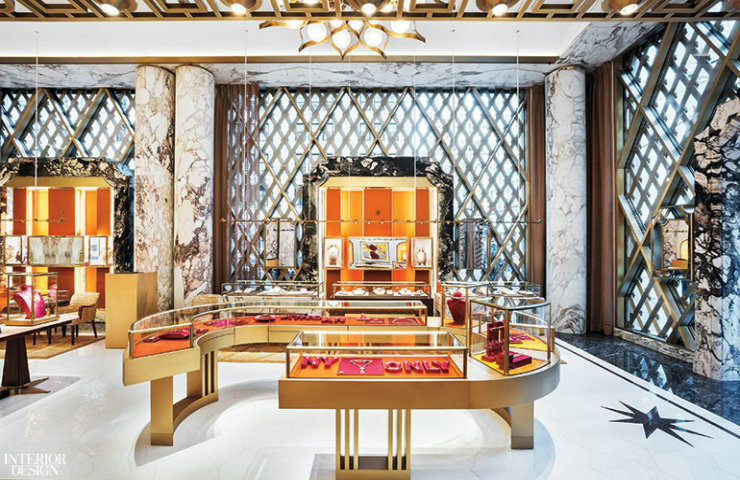 New York Bulgari store The awaited New York Bulgari store renovation has Peter Marino hands cover