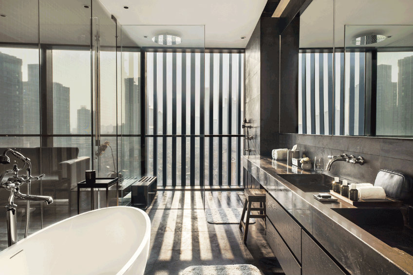 Luxury bathroom ideas at The Middle House new piero lissoni hotel New Piero Lissoni hotel design- the much anticipated The Middle House The Middle House hotel 2