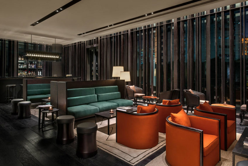Lobby design ideas at The Middle House by Piero Lissoni new piero lissoni hotel New Piero Lissoni hotel design- the much anticipated The Middle House The Middle House lobby