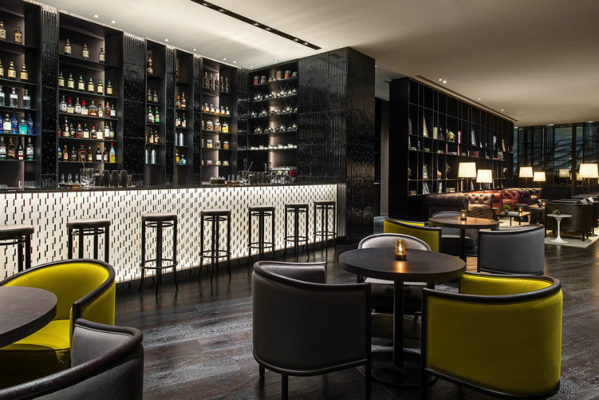 Bar design ideas at The Middle House by Piero Lissoni new piero lissoni hotel New Piero Lissoni hotel design- the much anticipated The Middle House The middle house bar