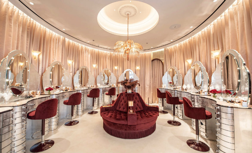 Havelock One Interiors WLL - Charlotte Tilbury havelock one interiors wll Havelock One Interiors WLL: Effortless Design Havelock One Charlotte Tilbury