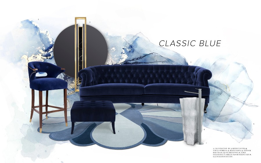 Pantone's Colour of the Year - Classic Blue  pantone Pantone's Classic Blue – The Colour of the Year Pantones Colour of the Year Classic Blue 1 1