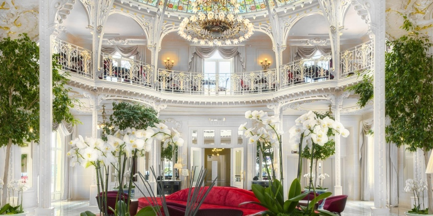 Monte Carlo SBM Group and the Beautiful Hotel Hermitage
