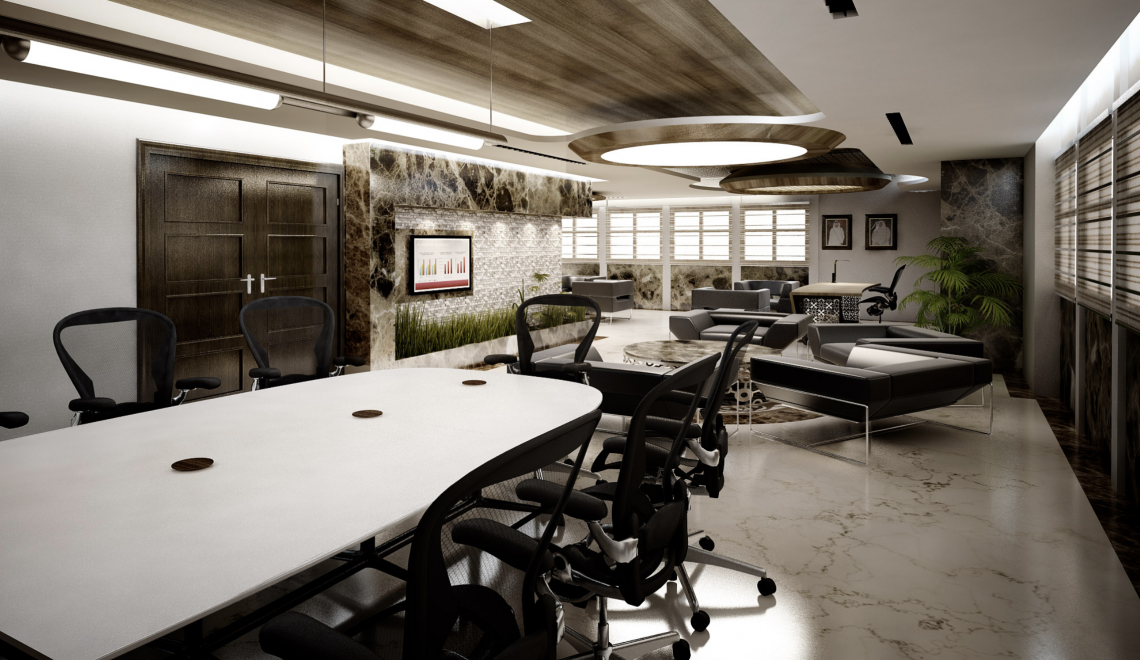Design 4 room And Its Inspiring Office Designs