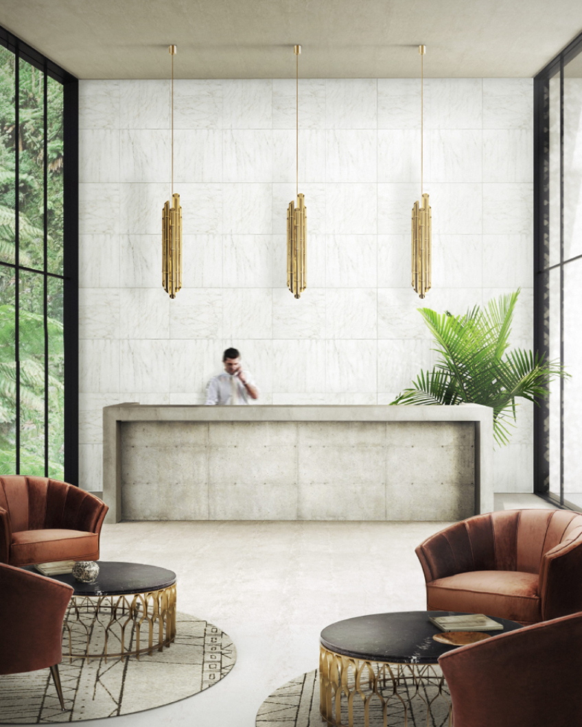 MODERN INTERIOR DESIGN CONTRACT PROJECTS BY MORQ morq Modern Interior Design Contract Projects by MORQ BB Hotel 6 Lobby with Maya Armchairs 3 1