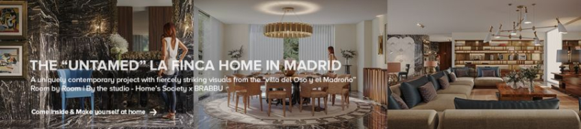 MODERN INTERIOR DESIGN CONTRACT PROJECTS BY MORQ morq Modern Interior Design Contract Projects by MORQ Banner Casa Madrid